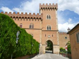 Main gate of Bolgheri, Tuscany